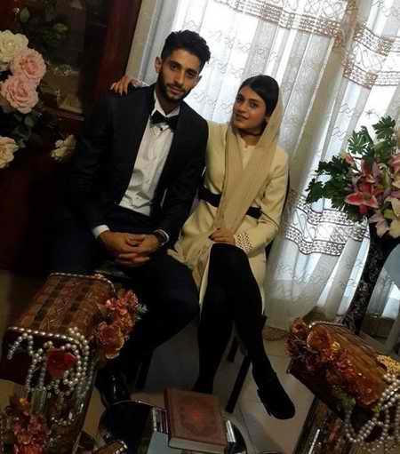 بیوگرافی میلاد عبادی پور والیبالیست ایران و همسرش (3)