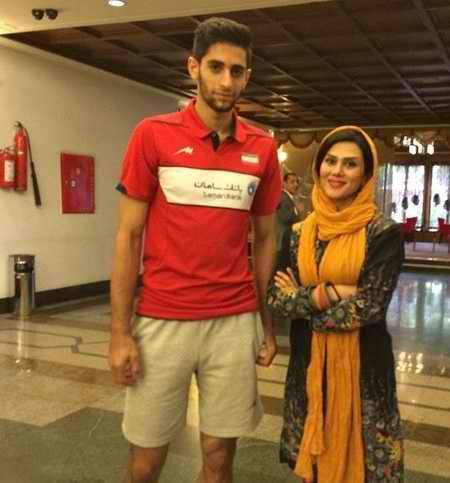 بیوگرافی میلاد عبادی پور والیبالیست ایران و همسرش (6)