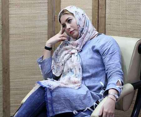 عکس جدید فریبا نادری در خبرگزاری برنا (2)