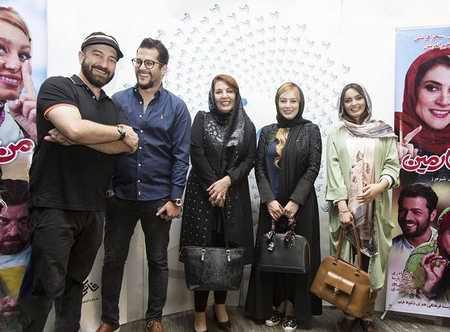 عکس های مراسم اکران فیلم من و شارمین با حضور بازیگران (1)