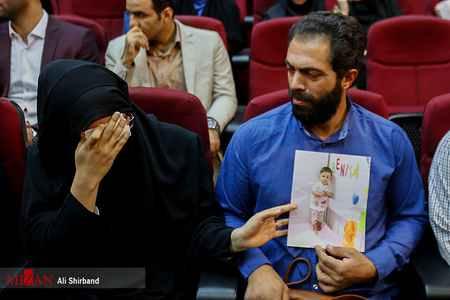 پدر و مادر بنیتا در جلسه دادگاه محاکمه قاتلان دخترشان (1)