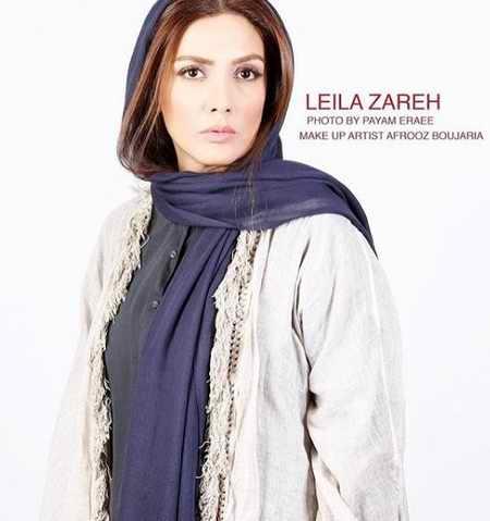 بیوگرافی لیلا زارع بازیگر و همسرش (15)