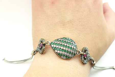 طلا و جواهرات سریال کاخ نشینان + گوشواره و گردنبند آیشن (13)