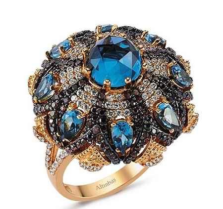 طلا و جواهرات سریال کاخ نشینان + گوشواره و گردنبند آیشن (8)