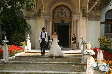 عکس ازدواج آیشن و ساواش + مدل لباس عروس آیشن (4)