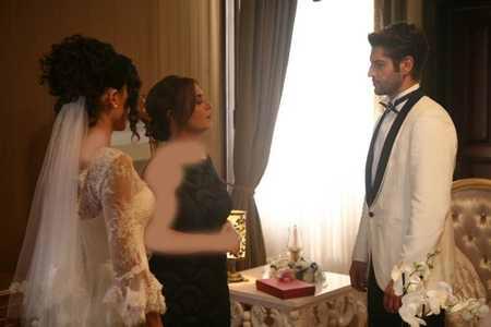 عکس ازدواج آیشن و ساواش + مدل لباس عروس آیشن (6)