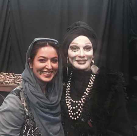 بیوگرافی فریبا طالبی بازیگر و همسرش امیر صدهزاری (1)