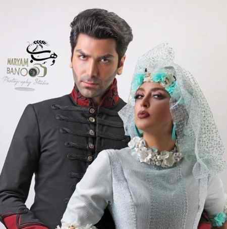 بیوگرافی فریبا طالبی بازیگر و همسرش امیر صدهزاری (9)