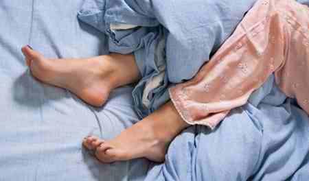 بی قراری پاها و درمان آن