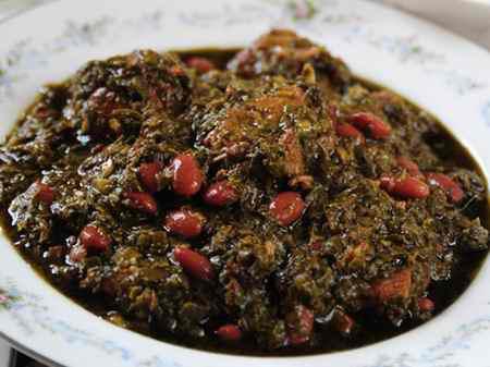 انشا در مورد طعم خورشت قورمه سبزی (2)
