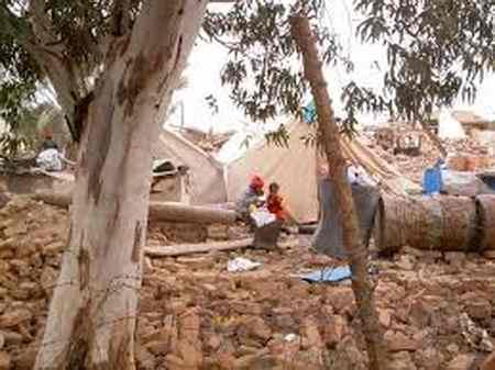 زلزله بم چند ثانیه طول کشید و چند ریشتر بود ؟