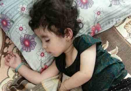 مرگ سارینا کودک زلزله زده کرمانشاه به خاطر سرما (3)