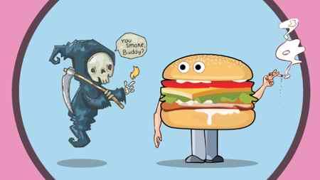 نقاشی درباره تغذیه سالم با ایده های جدید (1)