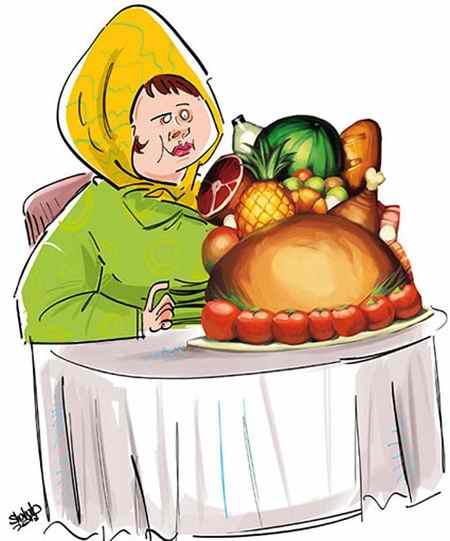 نقاشی درباره تغذیه سالم با ایده های جدید (13)