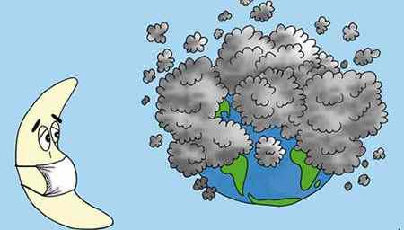 نقاشی در مورد آلودگی هوا (2)
