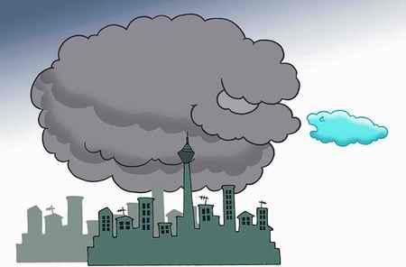 نقاشی در مورد آلودگی هوا (3)