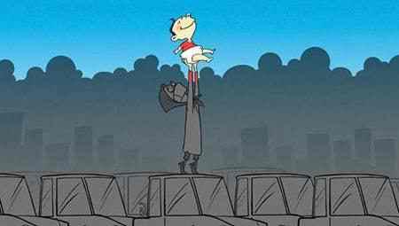 نقاشی در مورد آلودگی هوا (7)