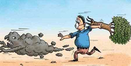 نقاشی در مورد آلودگی هوا (8)