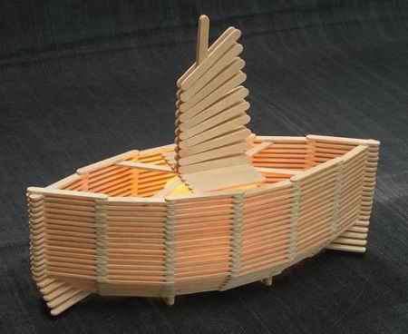 کاردستی با چوب بستنی ساده و خلاقانه (1)