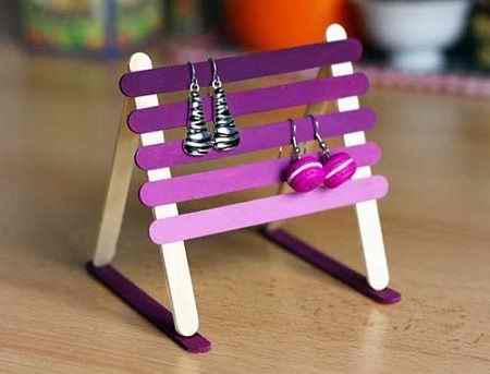 کاردستی با چوب بستنی ساده و خلاقانه (15)