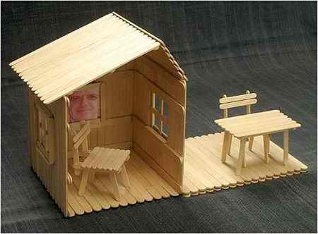کاردستی با چوب بستنی ساده و خلاقانه (4)