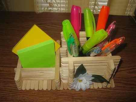 کاردستی با چوب بستنی ساده و خلاقانه (6)