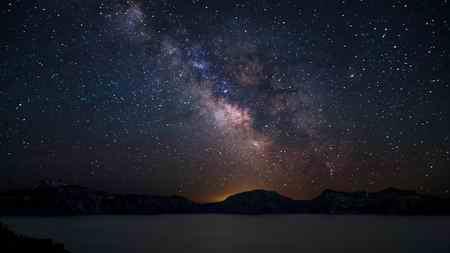 انشا در مورد آسمان شب نگارش ساده (2)
