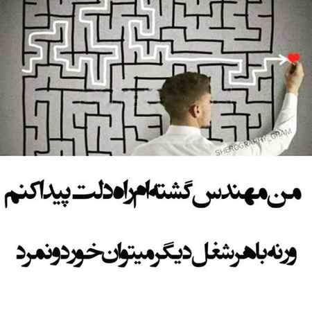 من مهندس گشته ام راه دلت پیدا کنم (3)