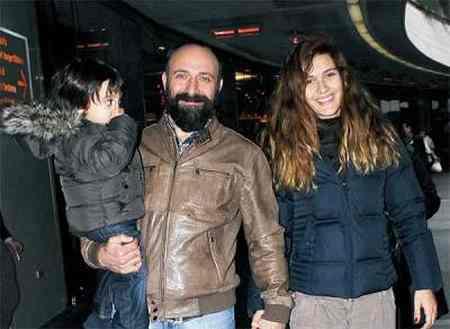 عکس بازیگران ترکیه ای با همسران واقعیشان