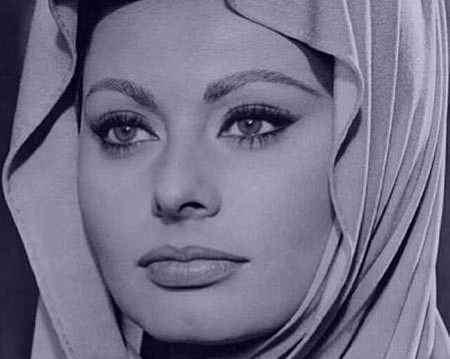 عکس های سوفیا لورن بازیگر مشهور ایتالیایی (1)