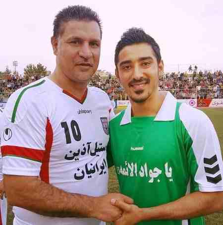 بیوگرافی رضا قوچان نژاد فوتبالیست و همسرش (8)