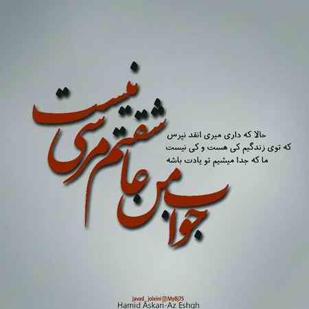 عکس نوشته جواب من عاشقتم مرسی نیست (7)