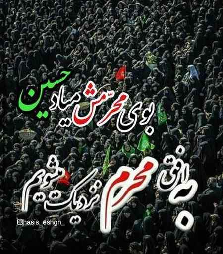 عکس نوشته محرم نزدیکه (9)