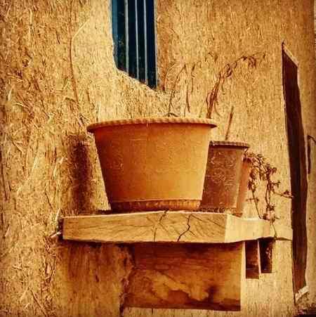 انشا درباره خانه های کاهگلی روستایی (7)