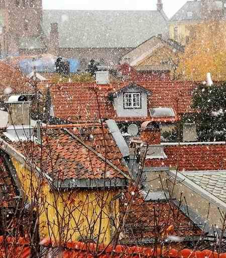 متنی ادبی درباره یک صبح سرد و برفی زمستانی بنویسید (5)