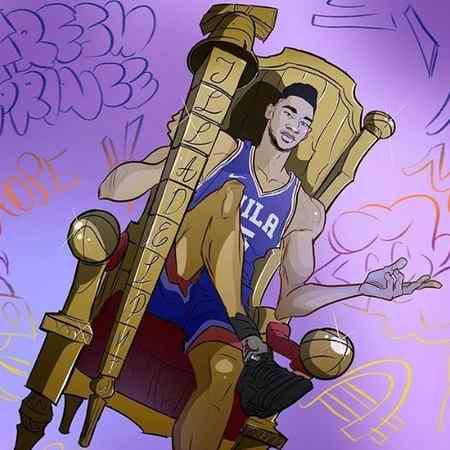 نقاشی درمورد ورزش و ورزشکاران (1)