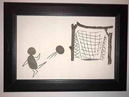 نقاشی درمورد ورزش و ورزشکاران (4)