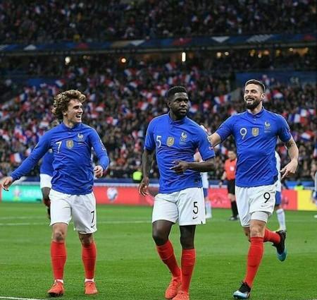 لقب تیم ملی فرانسه