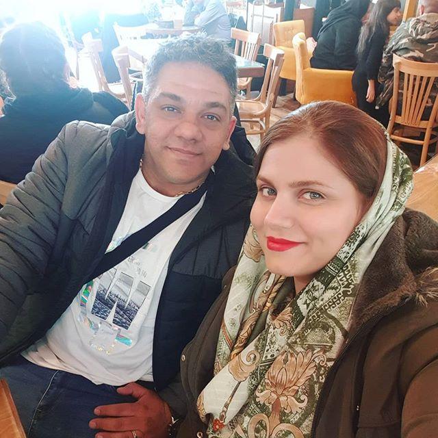 تصاویر آیدا پوریا نسب و همسرش آزاد مطهری
