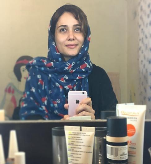 عکس بدون آرایش پریناز ایزدیار