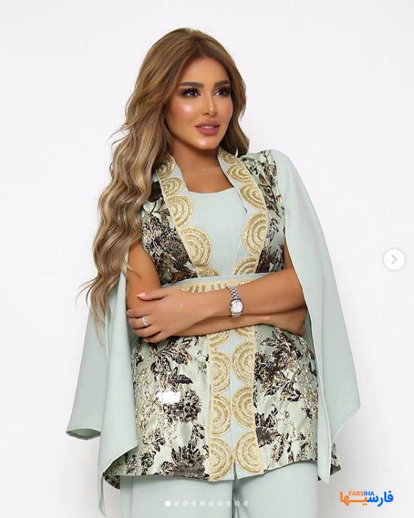 زیباترین دختر فشن مدل عربی در اینستاگرام + عکسهای جنجالی