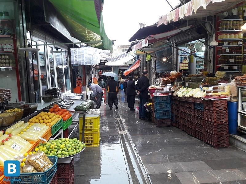 بازار سرپوشیده سنندج
