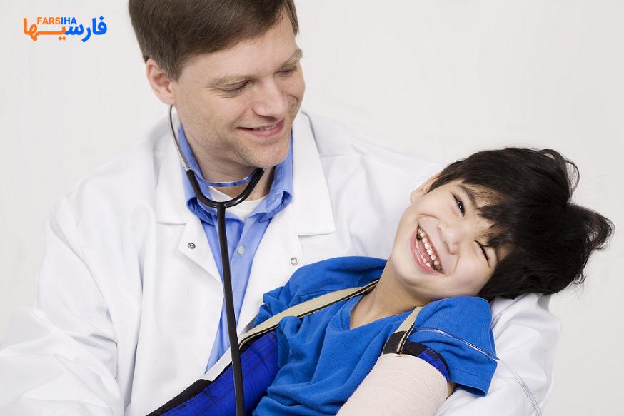 علائم فلج مغزی در کودکان و روش های درمانی