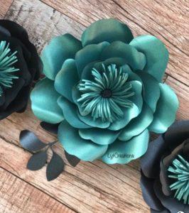 این گل های کاغذی را درست کنید و لذت ببرید