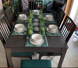 تنوع میز ناهارخوری را در این تصاویر ببینید