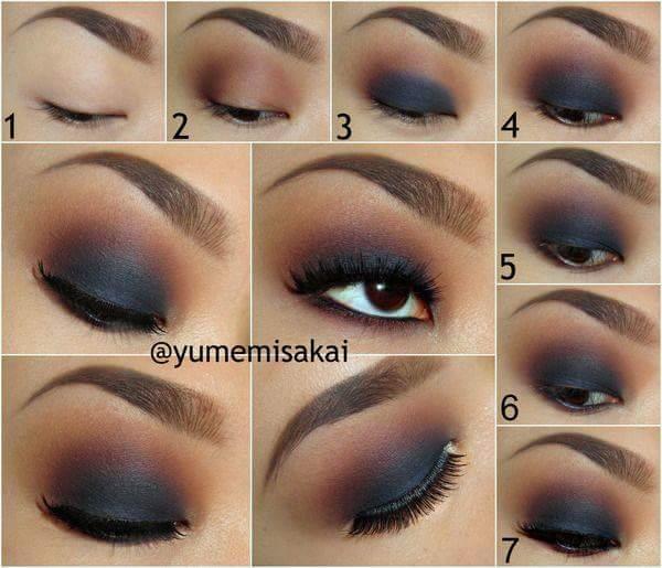 چند مدل آرایش چشم