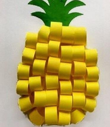 کاردستی میوه ای مناسب کوچولوها
