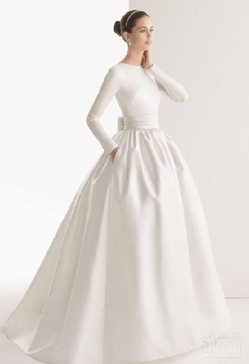 مدل لباس عروس ساده اما شیک