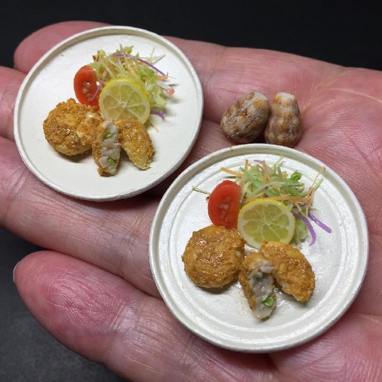 خوراکی های مینیاتوری جالب