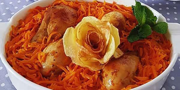 خورش هویج و پسته